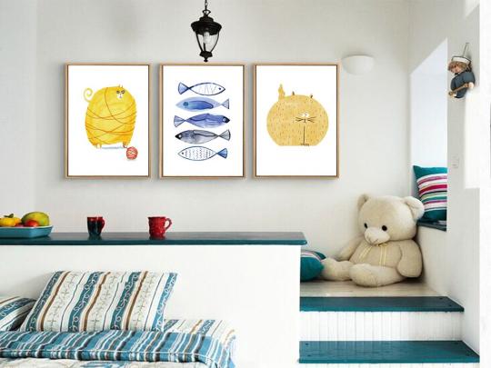 蓝天豚:装修选用硅藻泥背景墙 尽显艺术美