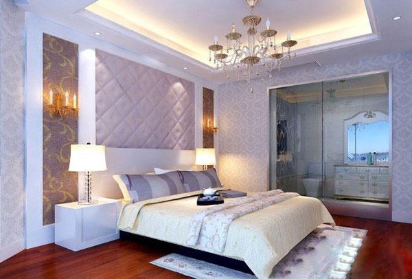 硅藻泥卧室背景墙装修攻略,硅藻泥色彩搭配技巧 卧室是一个家中最为
