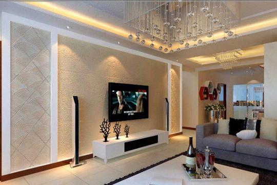 硅藻泥背景墙装修千变万化,客厅装修设计有哪些步骤